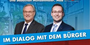 20.07.2019 Dämmerschoppen mit Sebastian Münzenmaier, MdB